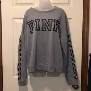 Victoria's Secret Gray Sweatshirt Size Large
